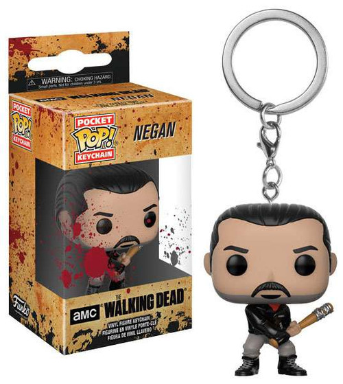 Funko The Walking Dead Pocket POP! TV Negan Keychain