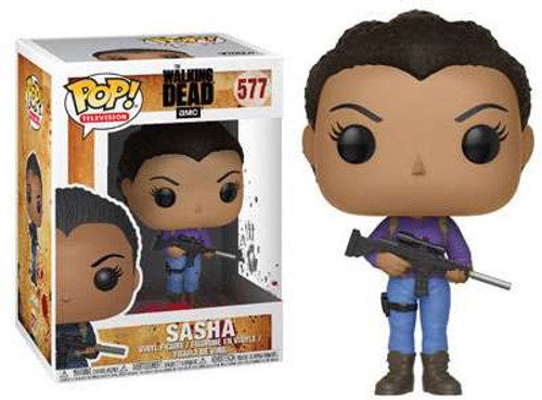Funko The Walking Dead POP! TV Sasha Vinyl Figure #577