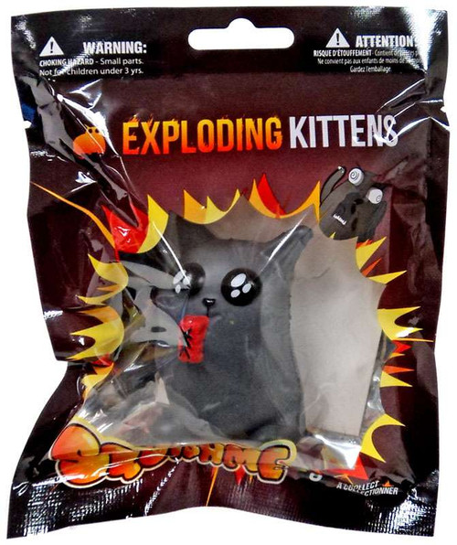 Exploding Kittens SquishMe Dynamite Kitten Squeeze Toy
