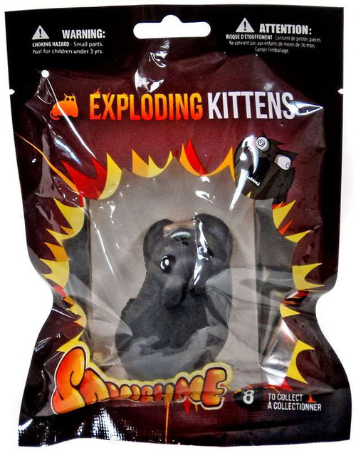 Exploding Kittens SquishMe Catnip Sandwiches Kitten Squeeze Toy