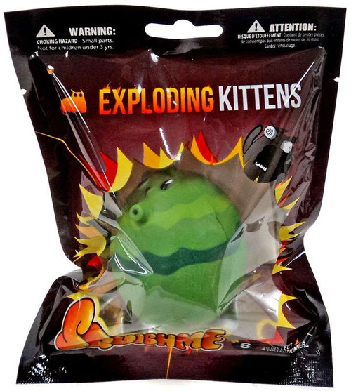 Exploding Kittens SquishMe Cattermelon Squeeze Toy