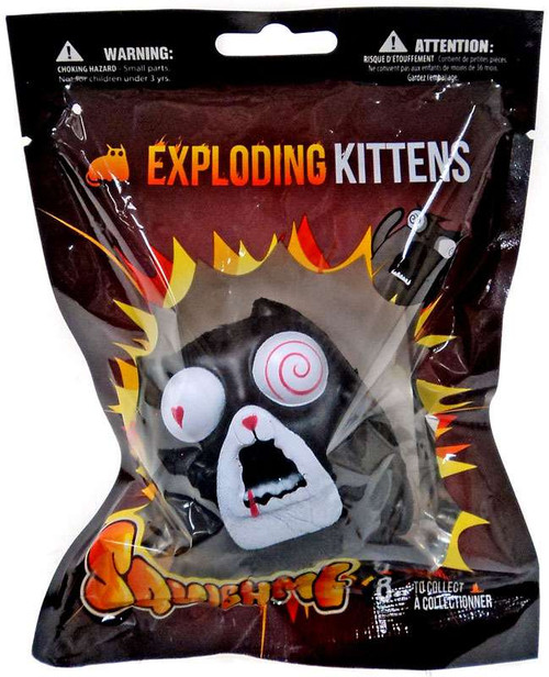 Exploding Kittens SquishMe Feral Cat Squeeze Toy