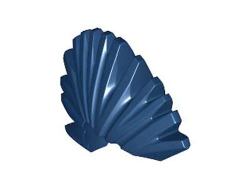 LEGO Blue Mohawk Loose Hair [Loose]