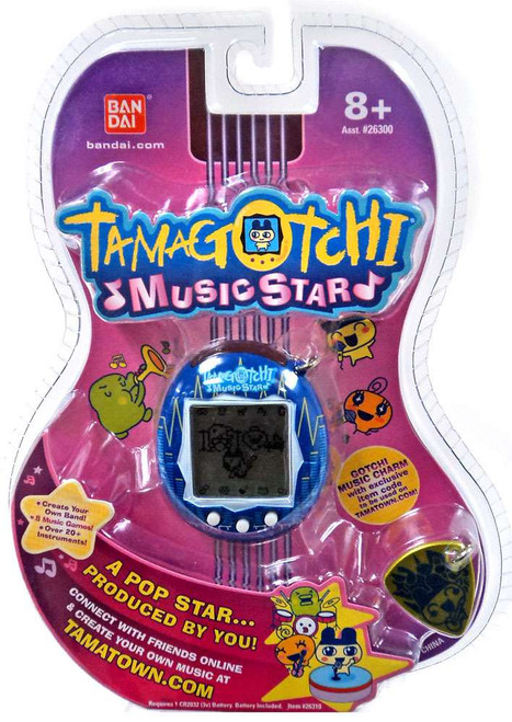 Tamagotchi Music Star Version 6 Equalizer Virtual Pet [Blue]