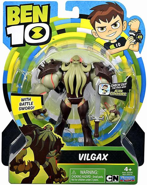 Ben 10 Basic Vilgax Action Figure [Battle Sword!]