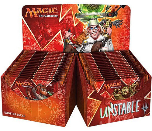 MtG Trading Card Game Unstable Booster Box [36 Packs]