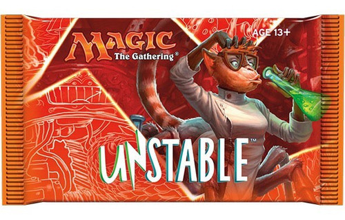 MtG Trading Card Game Unstable Booster Pack