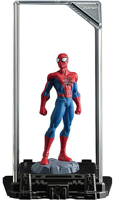 Marvel Super Hero Illuminate Gallery Spider Man 4-Inch Statue & Display Case