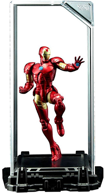 Marvel Super Hero Illuminate Gallery Iron Man 4-Inch Statue & Display Case