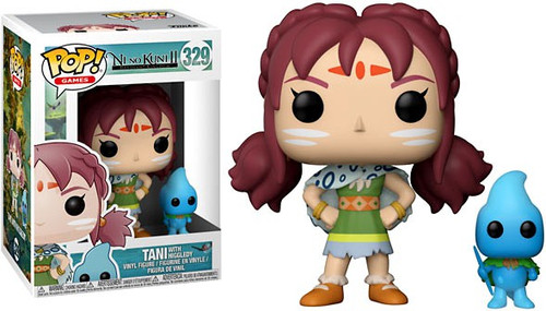 Funko Ni No Kuni2 POP! Video Games Tani with Higgledy Vinyl Figure & Buddy #329