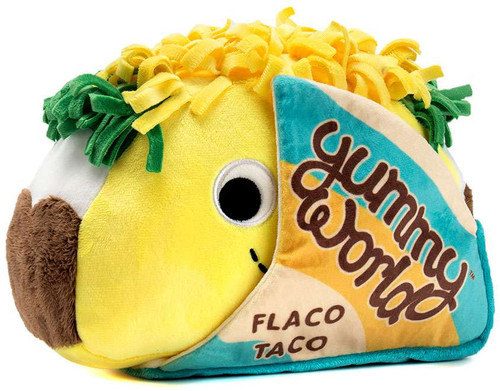 Yummy World Flaco Taco Medium Plush