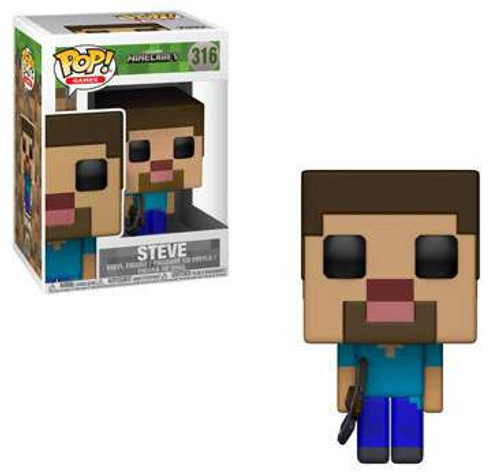 Funko Minecraft POP! Video Games Steve Vinyl Figure #316