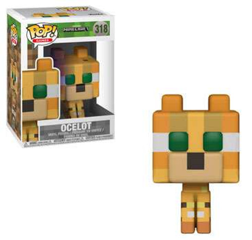 Funko Minecraft POP! Video Games Ocelot Vinyl Figure #318 [Regular Version]