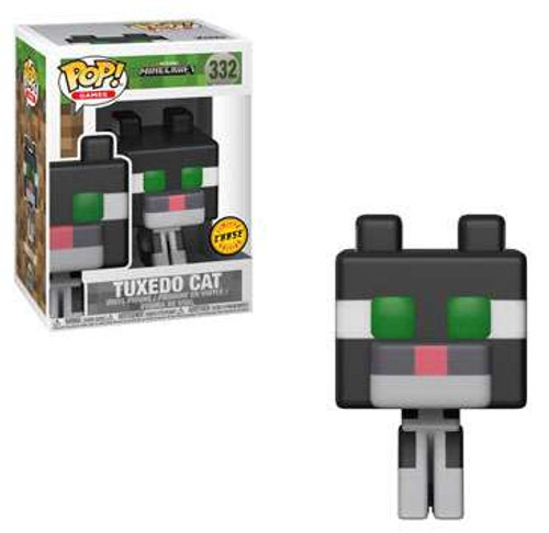 Funko Minecraft POP! Video Games Tuxedo Cat Vinyl Figure #332 [Chase Version]