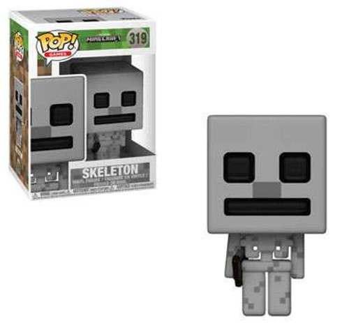 Funko Minecraft POP! Video Games Skeleton Vinyl Figure #319