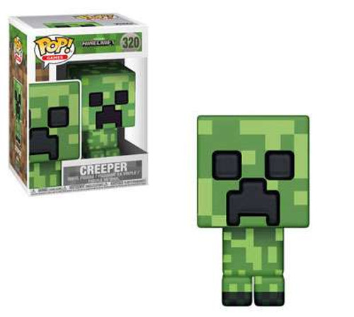 Funko Minecraft POP! Video Games Creeper Vinyl Figure #320