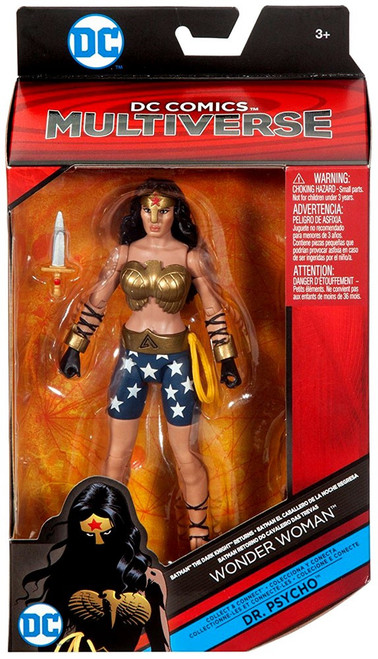 DC The Dark Knight Returns Multiverse Dr. Psycho Series Wonder Woman Action Figure