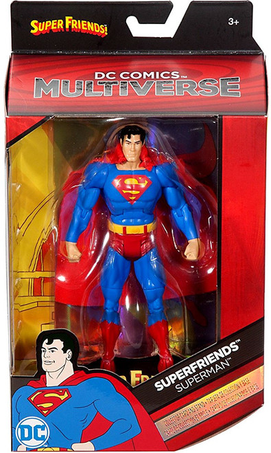 DC Superfriends Multiverse Superman Action Figure [Superfriends]