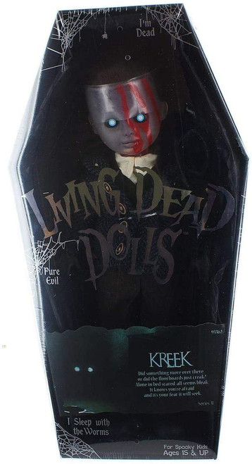 Living Dead Dolls Series 31 Don't Turn Out The Lights Kreek 10-Inch Doll