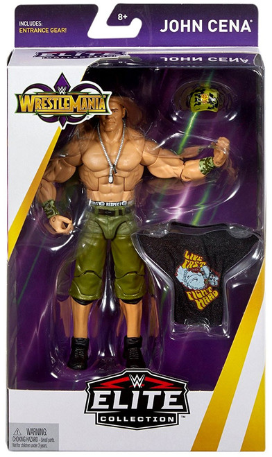 WWE Wrestling Elite Collection WrestleMania 34 John Cena Action Figure [Entrance Gear]