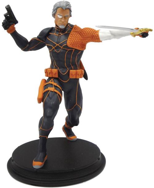 DC Deathstroke Exclusive 8-Inch Statue [Unmasked, Rebirth]