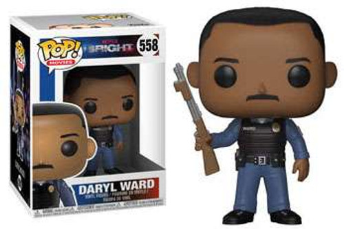 Funko Bright POP! TV Daryl Ward Vinyl Figure #558 [Holding Gun, Regular Version]