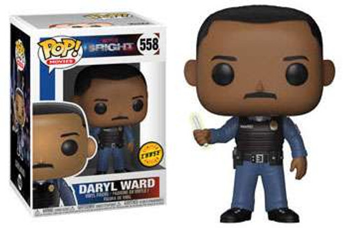 Funko Bright POP! TV Daryl Ward Vinyl Figure #558 [Holding Wand, Chase Version]