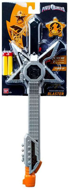 Power Rangers Super Ninja Steel Rockstorm Guitar Blaster Roleplay Toy