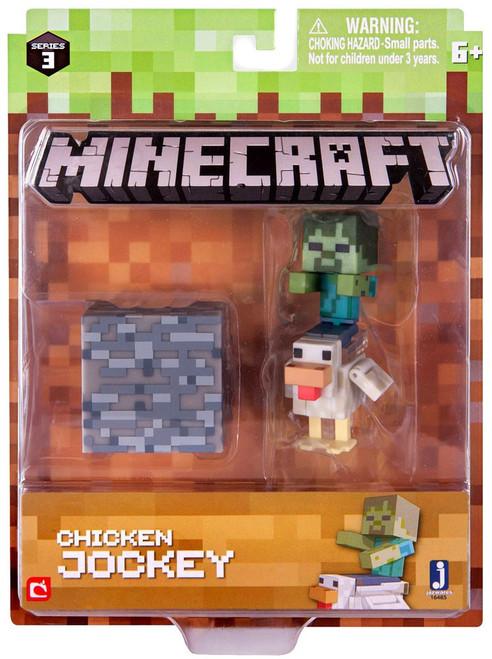 Minecraft Series 3 Chicken Jockey Action Figure Set