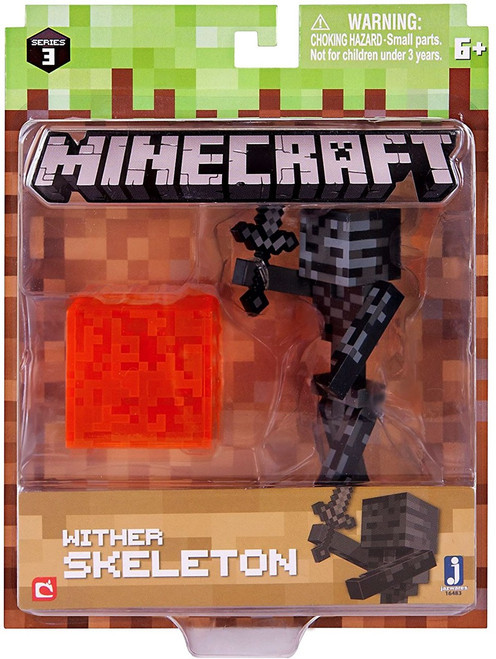 Minecraft Series 3 Wither Skeleton Action Figure Set