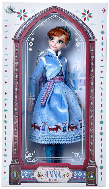 Disney Olaf's Frozen Adventure Anna Exclusive Doll