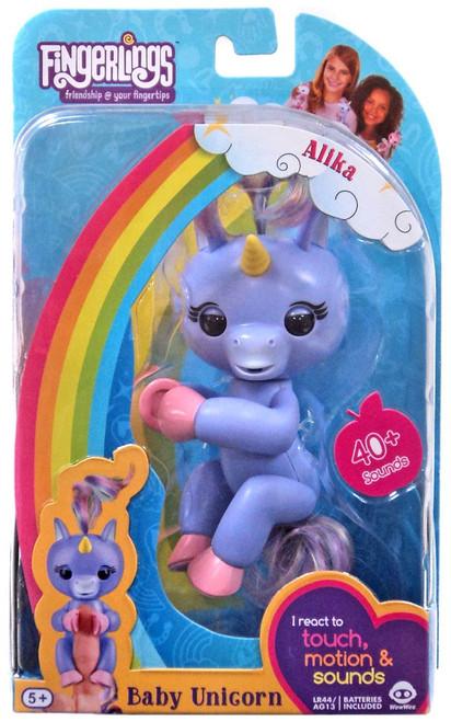 Fingerlings Baby Unicorn Alika Figure
