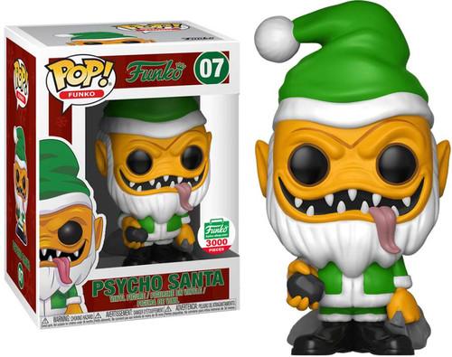Funko Spastik Plastik POP! Psycho Santa (Yellow Version) Exclusive Vinyl Figure #07 [12 Days of Christmas]