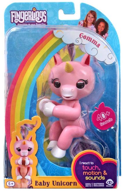 Fingerlings Baby Unicorn Gemma Figure