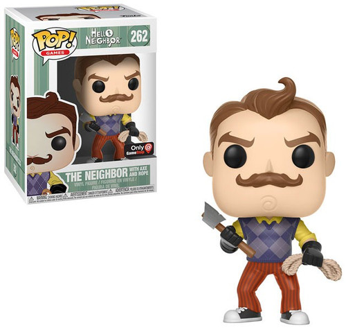 Funko Hello Neighbor POP! Games The Neighbor Exclusive Vinyl Figure #262 [with Axe & Rope]
