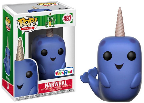 Funko Elf the Movie POP! Movies Narwhal Exclusive Vinyl Figure