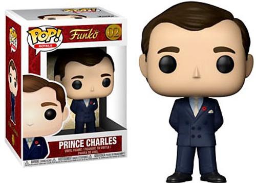 Funko Pop! Royals Prince Charles Vinyl Figure #02