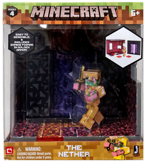 Minecraft Series 4 The Nether Playset