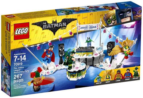 LEGO DC The Batman Movie The Justice League Anniversary Party Set #70919