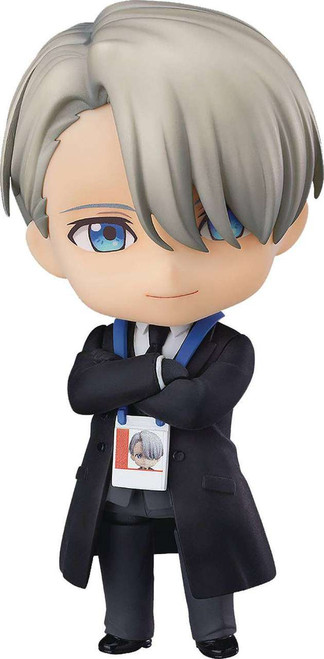 Yuri on Ice Nendoroid Victor Nikiforov Action Figure [Coach Outfit]