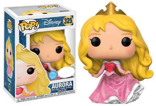 Funko Sleeping Beauty POP! Disney Aurora Exclusive Vinyl Figure [Pink Dress, Glitter]