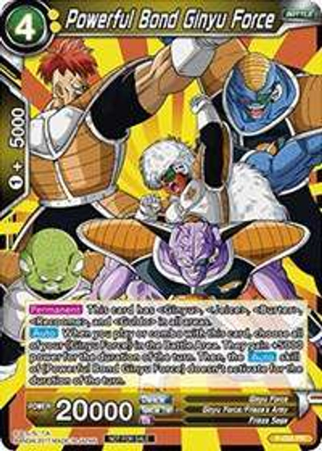Dragon Ball Super Collectible Card Game Dash Pack Series 2 Promo Powerful Bond Ginyu Force P-024