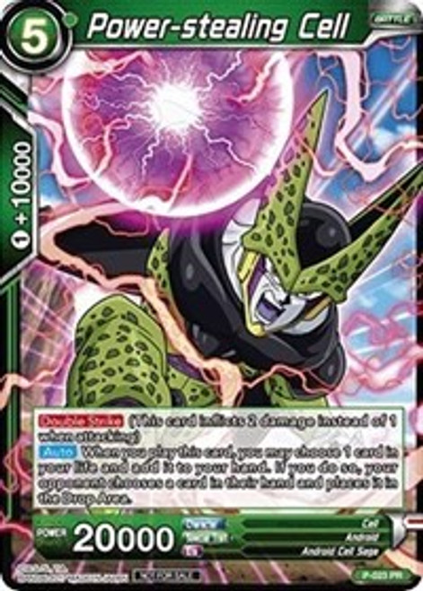 Dragon Ball Super Collectible Card Game Dash Pack Series 2 Promo Power-stealing Cell P-023