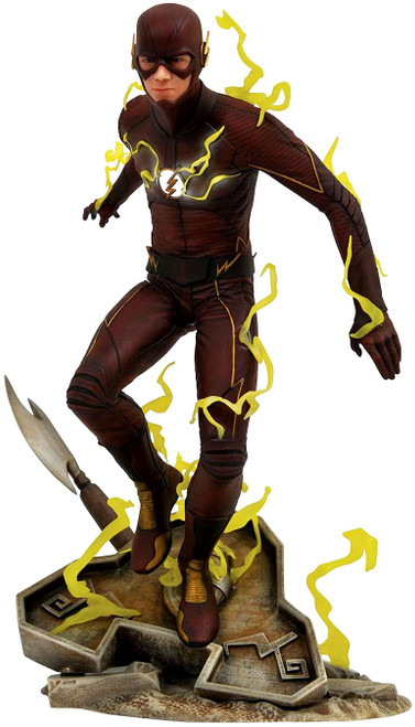 CW TV Series DC Gallery The Flash 9-Inch PVC Figure Statue [TV Version]
