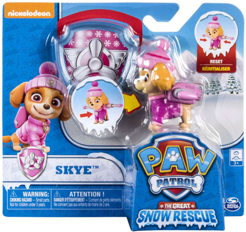 Paw Patrol The Great Snow Rescue Skye Exclusive Figure