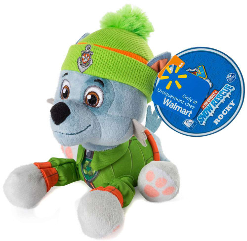 Paw Patrol The Great Snow Rescue Rocky Exclusive 8-Inch Plush