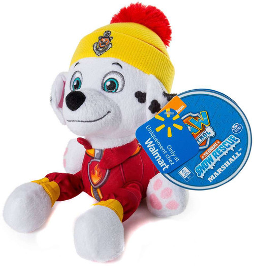 Paw Patrol The Great Snow Rescue Marshall Exclusive 8-Inch Plush
