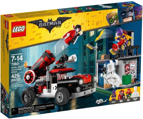 LEGO DC The Batman Movie Harley Quinn Cannonball Attack Set #70921