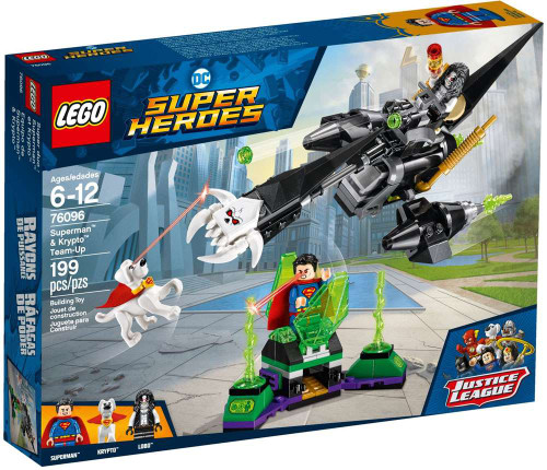 LEGO DC Super Heroes Superman & Krypto Team-Up Set #76096