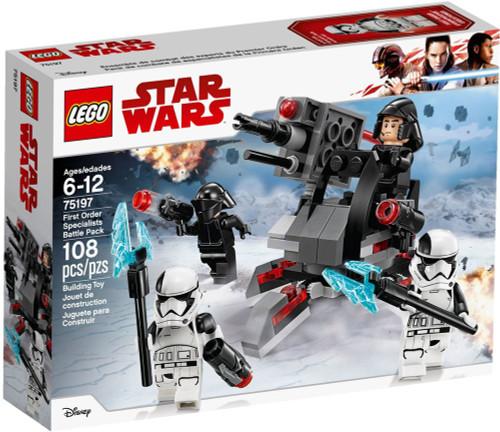 LEGO Star Wars First Order Specialists Battle Pack Set #75197